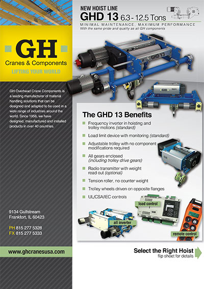 Sell sheet GHD13